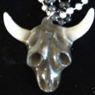 Longhorn Skull Mardi Gras Bead Texas Mardi Gras Steer