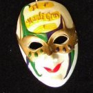 Jester Mask Mardi Gras Bead New Orleans Musical Thrill