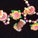 Luaua Pool Tiki Party Mardi Gras Bead Necklace YOUR CHOICE Hawaii Tropical Surf