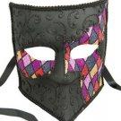 Bauta Venetian Mask Harlequin YOUR CHOICE Mardi Gras Halloween Costume Party