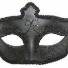 Black Eye Mask Goth Halloween Mardi Gras Costume Masquerade Costume Party
