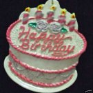 Birthday Cake Mardi Gras Bead Necklace YOUR CHOICE New Orleans Beads Parade