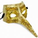 Venetian Mask Casanova Long Nose YOUR CHOICE COLOR Mardi Gras Halloween Parade