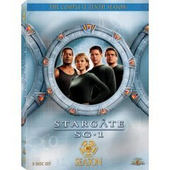 Brand new Stargate SG-1 Season 10 DVD BOX SET.