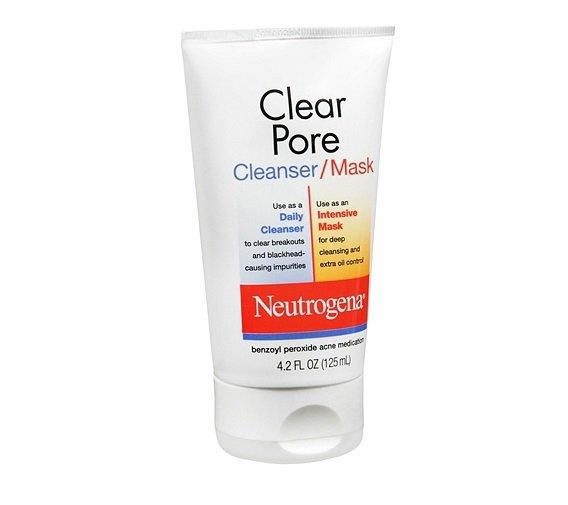 Neutrogena Clear Pore Cleanser/Mask 4.2 fl oz (125 ml)