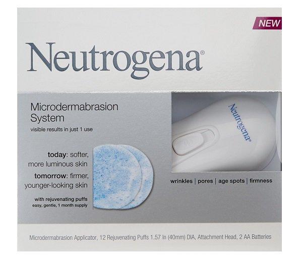 Neutrogena Microdermabrasion System With 12 Rejuvenating Puffs