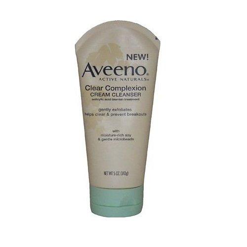 Aveeno Clear Complexion Cream Cleanser (5 oz/ 141g)