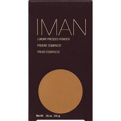 Iman Luxury Pressed Powder (0.35 oz/ 10g) - Clay Medium