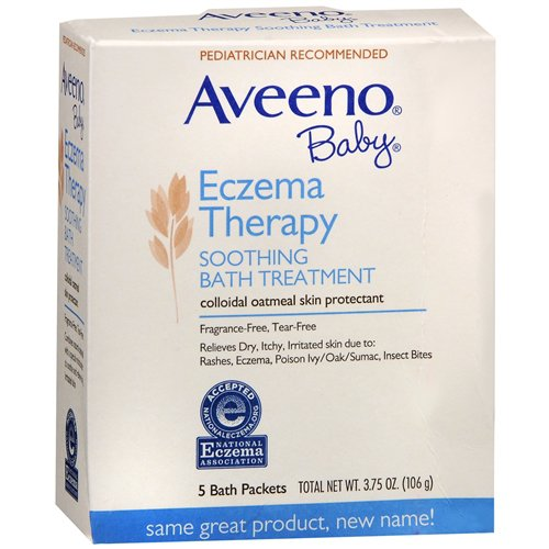 Aveeno Baby Eczema Therapy Soothing Bath Treatment (3.75 oz/ 106 g)