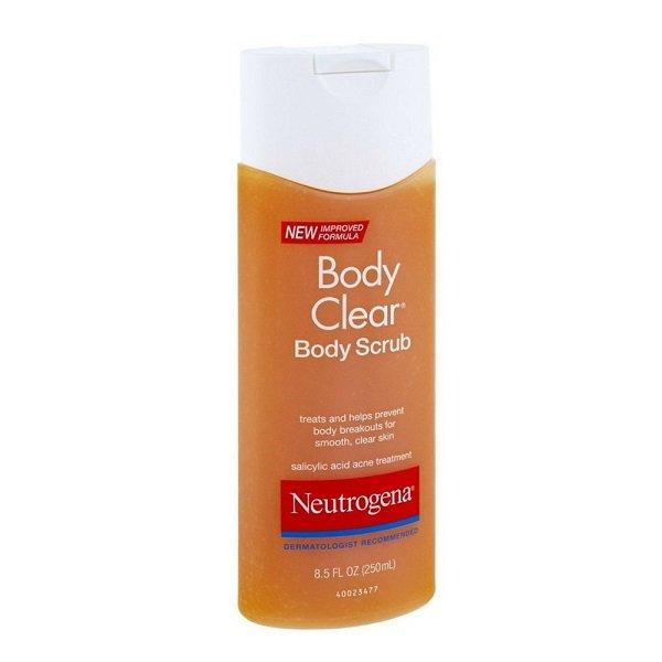 Neutrogena Body Clear Body Scrub 8.5 oz (250 ml)
