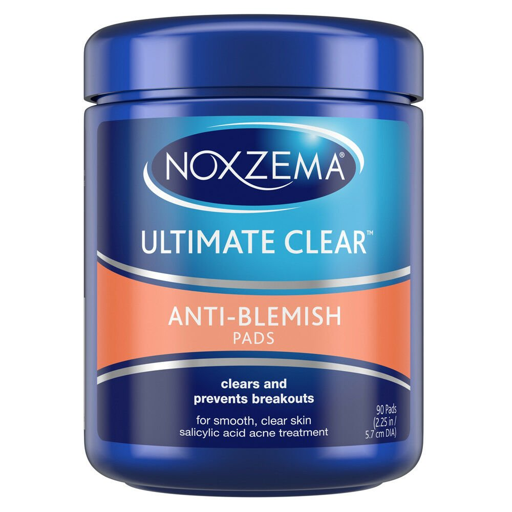 Noxzema Ultimate Clear Anti Blemish Face Pads (90 Pads)