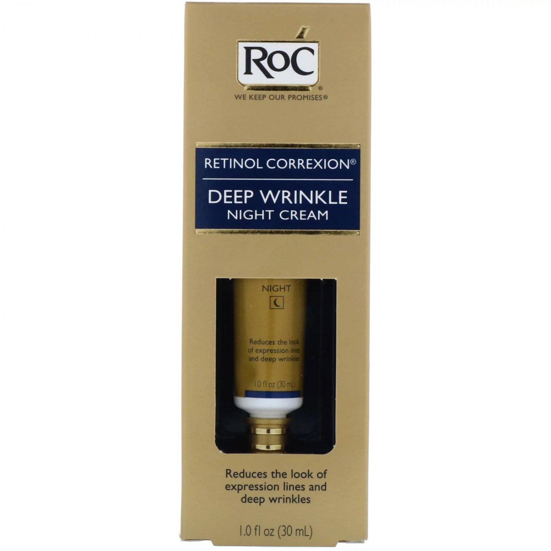 RoC Retinol Correxion Deep Wrinkle Night Cream (1 oz/ 30ml)
