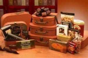 The Traveling Gourmet Tower Gift Basket Set (Shipping Alert in Description)