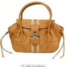 Prada Handbag BR2937 Camel Leather