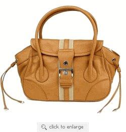 Prada Handbag BR2937 Camel Leather