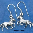 Attractive Sterling Silver Galloping Horses earrings