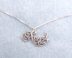 Cute Sterling silver Angel Charm