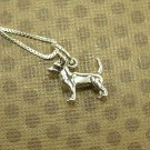 Adorable Chihuahua Sterling Silver necklace