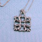 Sterling Silver Intricate Knot Celtic Pendant