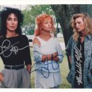 WITCHES OF EASTWICK - CHER - SUSAN SARANDON - MICHELLE PFEIFFER - TRIPLE AUTOGRAPHED W/COA
