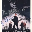 THE UNTOUCHABLES MOVIE - AMAZING -=4=- ACTORS HAND SIGNED AUTOGRAPHED PHOTO WITH COA