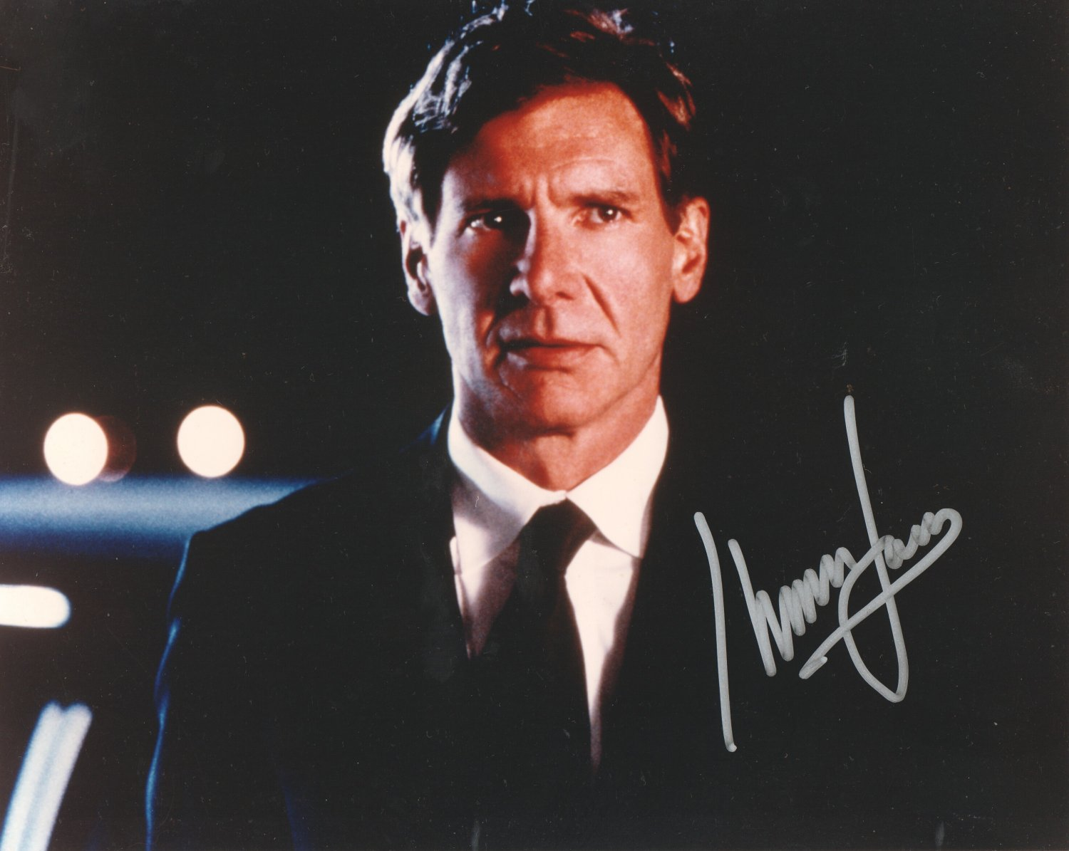 HARRISON FORD - HANDSOME ACTOR - HAND SIGNED AUTOGRAPHED PHOTO WITH COA