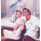 MICHELLE PFEIFFER - AL PACINO - FRANKIE & JOHNNY MOVIE - DOUBLE - HAND SIGNED AUTOGRAPHED