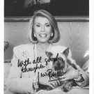 JOAN RIVERS - GREAT FEMALE COMEDIAN - HAND SIGNED AUTOGRAPHED PHOTO WITH COA