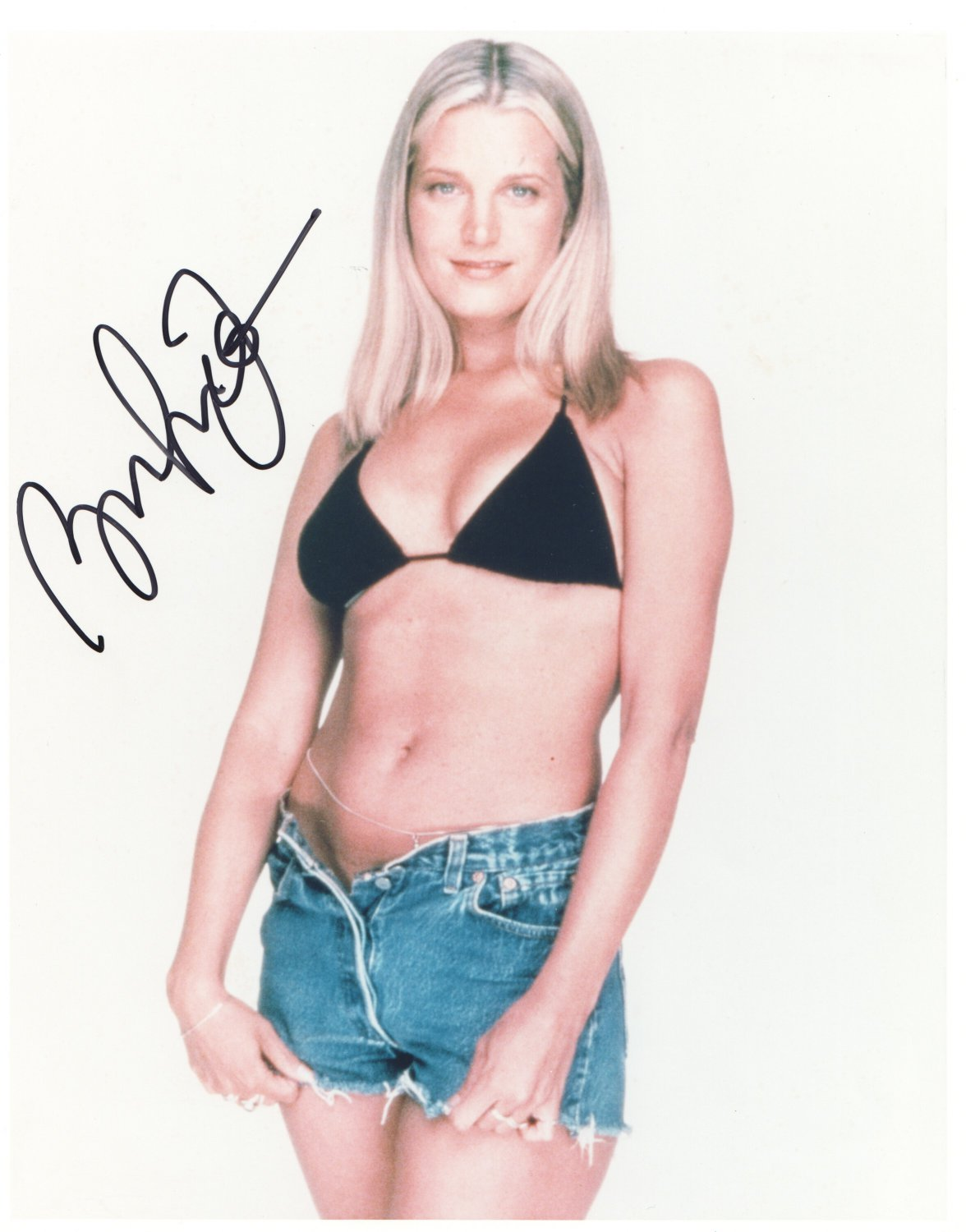 BRDGET FONDA - YOUNG - SEXY - HAND SIGNED AUTOGRAPHED PHOTO WITH COA