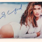 CINDY CRAWFORD - SEXY MODEL HAND SIGNED AUTOGRAPHED PHOTO WITH COA