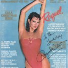 RAQUEL WELCH - PLAYBOY MAG COVER ONLY - HAND SIGNED AUTOGRAPHED MAG COVER WITH COA
