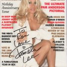 PAMELA LEE ANDERSON - 1996 PLAYBOY MAGAZINE - COMPLETE - HAND SIGNED AUTOGRAPHED WITH COA