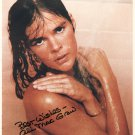ALI MACGRAW - SEXY ACTRESS - WIFE OF STEVE MCQUEEN - HAND SIGNED AUTOGRAPHED PHOTO WITH COA