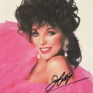JOAN COLLINS - BRITISH ACTRESS - DYNASTY - AMERICAN HORROR - HAND SIGNED AUTOGRAPHED PHOTO WITH COA