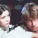 STAR WARS CAST - DOUBLE - CARRIE FISHER & MARK HAMILL - HAND SIGNED AUTOGRAPHED PHOTO WITH COA