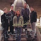 PEARL JAM BAND - ALL MEMBERS - HAND SIGNED AUTOGRAPHED PHOTO WITH COA
