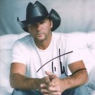 TIM McGRAW - HANDSOME COUNTRY STAR - HAND SIGNED AUTOGRAPHED PHOTO WITH COA
