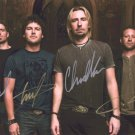 NCKELBACK BAND - ALL MEMBERS - HAND SIGNED AUTOGRAPHED PHOTO WITH COA