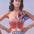 LYNDA CARTER - SEXY WONDER WOMAN 70'S TV - HAND SIGNED AUTOGRAPHED PHOTO WITH COA