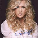 CARRIE UNDERWOOD ~ STUNNING COUNTRY SINGER - HAND SIGNED AUTOGRAPHED PHOTO WITH COA