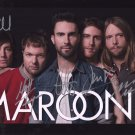 MAROON 5 BAND - ALL MEMBERS HAND SIGNED AUTOGRAPHED PHOTO WITH COA