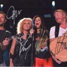 LITTLE BIG TOWN - COUNTRY LEGENDARY BAND - ALL MEMBERS - HAND SIGNED AUTOGRAPHED PHOTO WITH COA