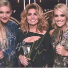 KELSEA BALLERINI ~ SHANIA TWAIN ~ CARRIE UNDERWOOD - TRIPLE - HAND SIGNED AUTOGRAPHED PHOTO WITH COA