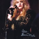 STEVIE NICKS - FLEETWOOD MAC LEGEND SINGER - HAND SIGNED PHOTO AUTOGRAPHED PHOTO WITH COA
