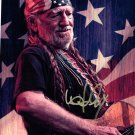 WILLIE NELSON - OUTSTANDING PATRIOTIC - HAND SIGNED AUTOGRAPHED PHOTO WITH COA
