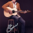 GLEN CAMPBELL - LEGENDARY COUNTRY STAR - HAND SIGNED AUTOGRAPHED PHOTO WITH COA