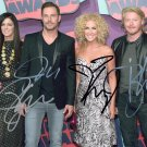 LITTLE BIG TOWN BAND - COUNTRY MUSIC - ALL MEMBERS HAND SIGNED AUTOGRAPHED PHOTO WITH COA