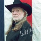 WILLIE NELSON - LEGENDARY COUNTRY SINGER - OUTSTANDING HAND SIGNED AUTOGRAPHED PHOTO WITH COA