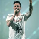 ADAM LEVINE OF MAROON 5 BAND & THE VOICE TV SHOW HAND SIGNED AUTOGRAPHED PHOTO WITH COA