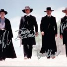 TOMBSTONE THE MOVIE (1993) -=4=- MAIN CAST - ALL HAND SIGNED AUTOGRAPHED PHOTO WITH COA